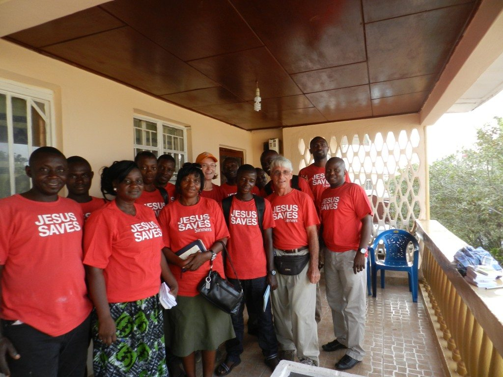 The team from Support Mission Church