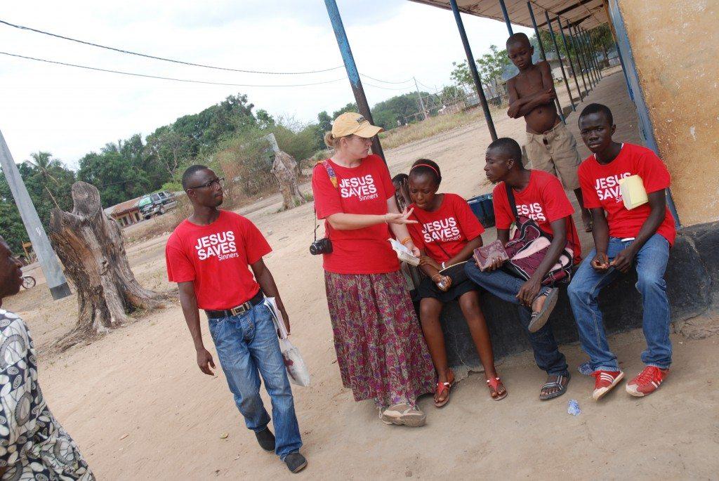 The crew of Ebenezer Baptist Church