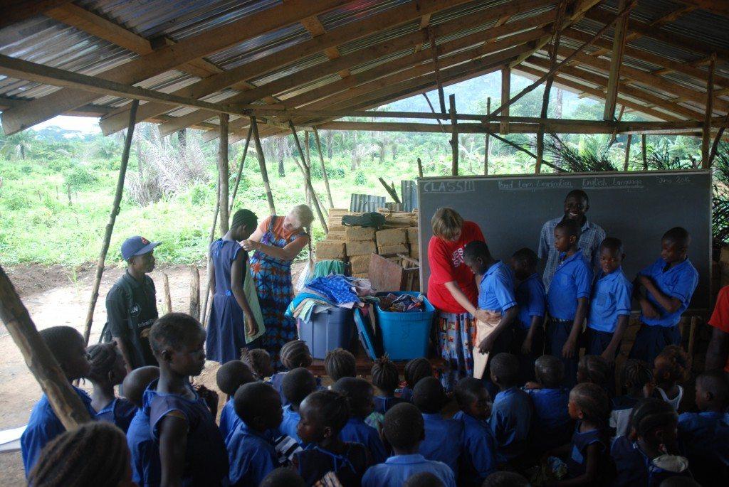 Conclusion of CEF program at Tendabu school