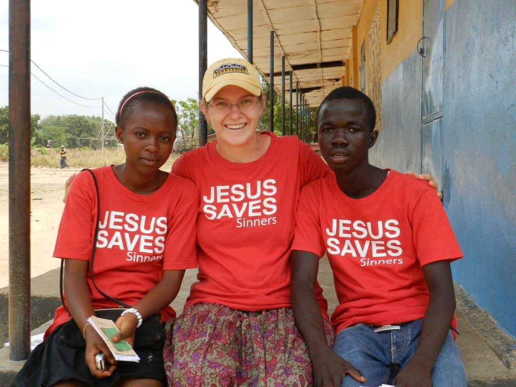 Mission Intern Aimee Tanselle