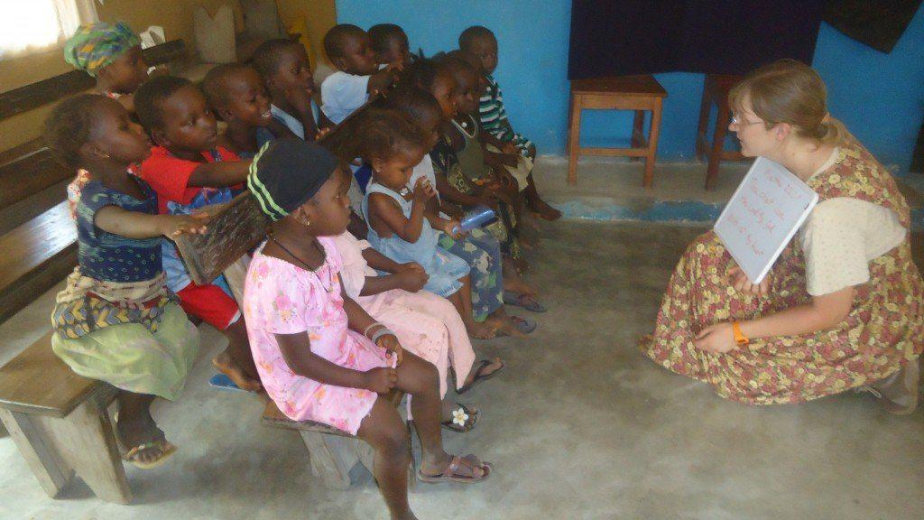 Teaching in Gumahun